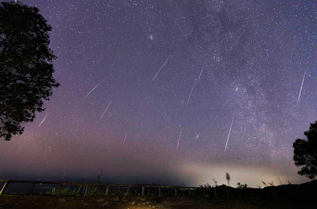 Lluvia de Meteoritos Perseidas en Yest